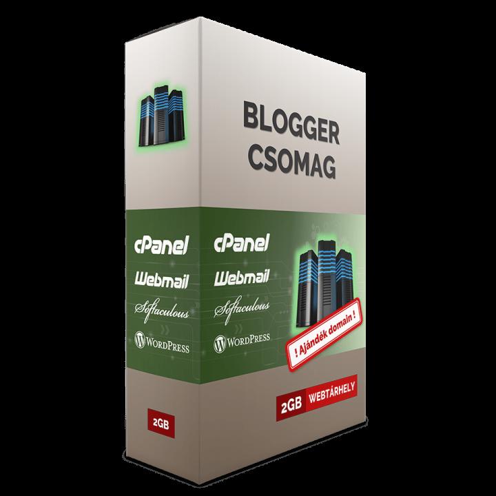 BLOGGER webtárhely csomag