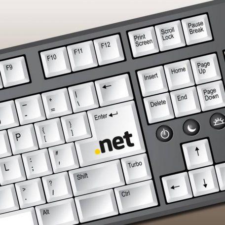 .NET domain regisztráció