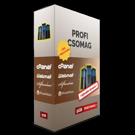PROFI webtárhely csomag